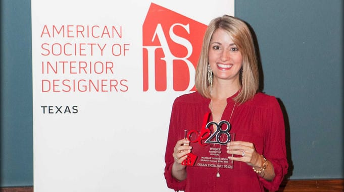Austin Interior Designer Michelle Thomas Wins ASID Honor With Residential Remodel
