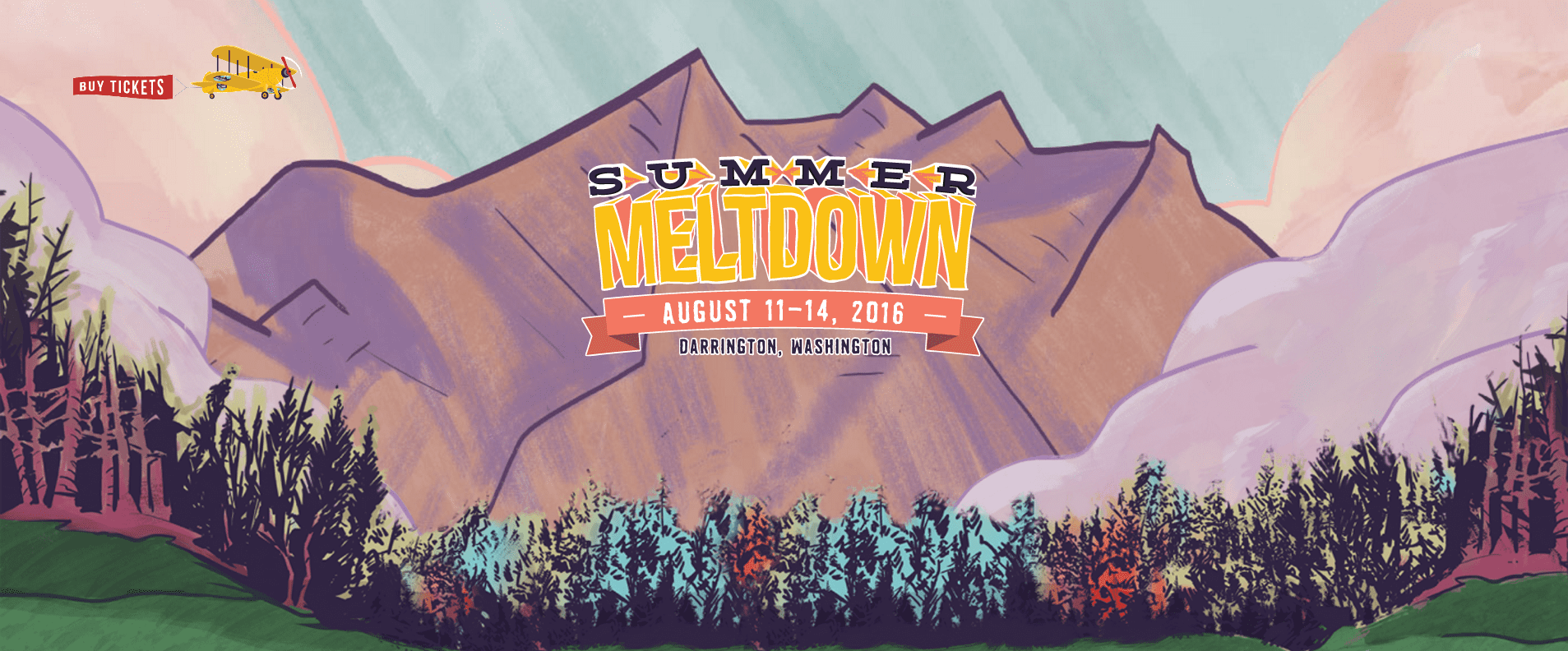 Artist Recreates Summer Meltdown Poster