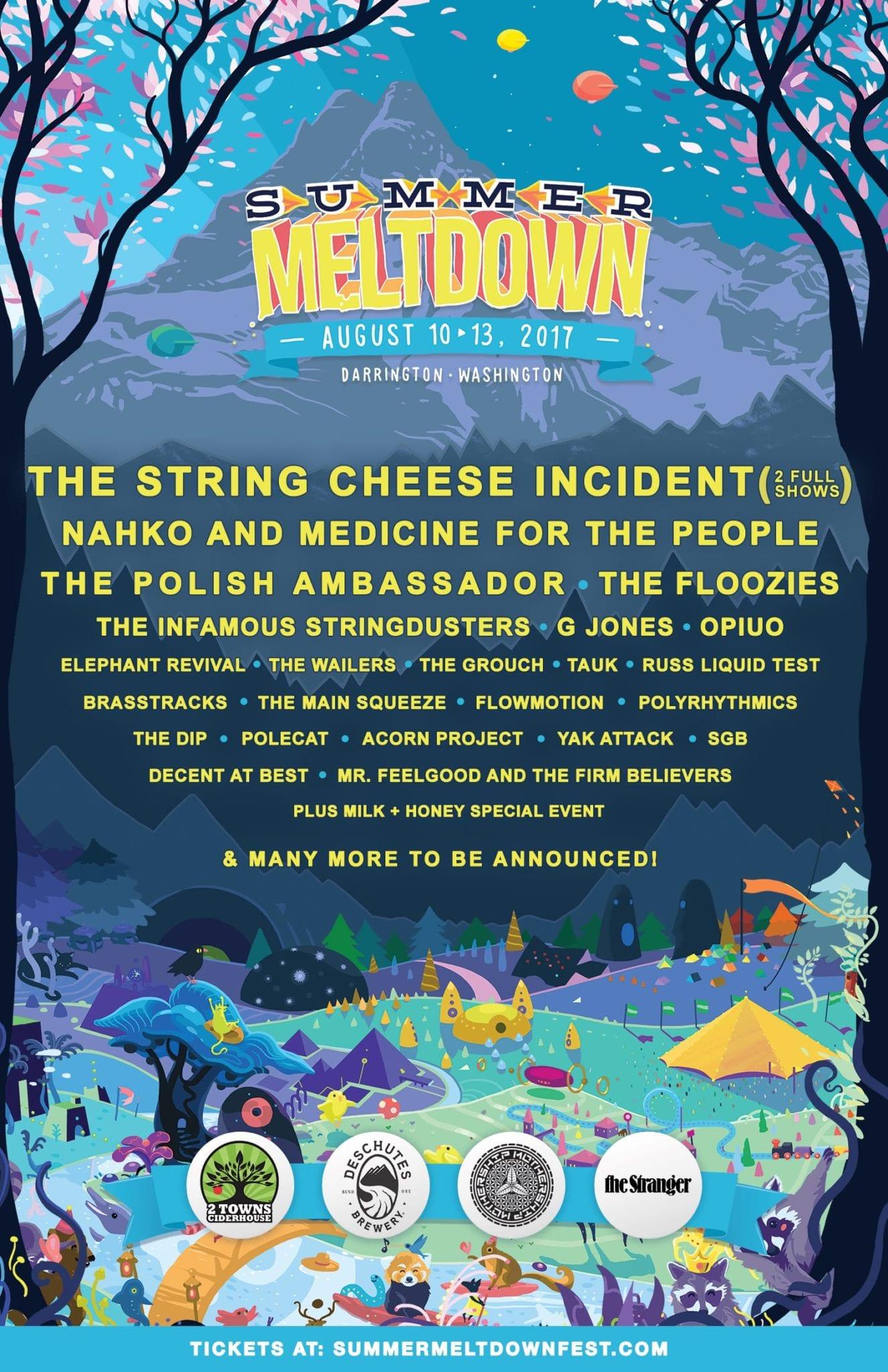 Summer Meltdown Festival 2017 Lineup