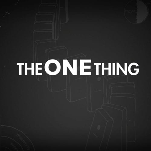 The ONE Thing WordPress Website
