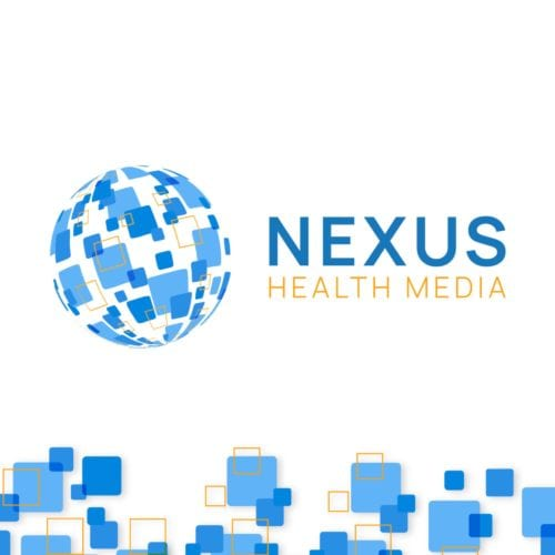 Nexus Health Media Logo Design