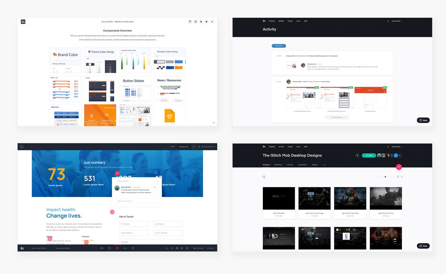 How we use InVision