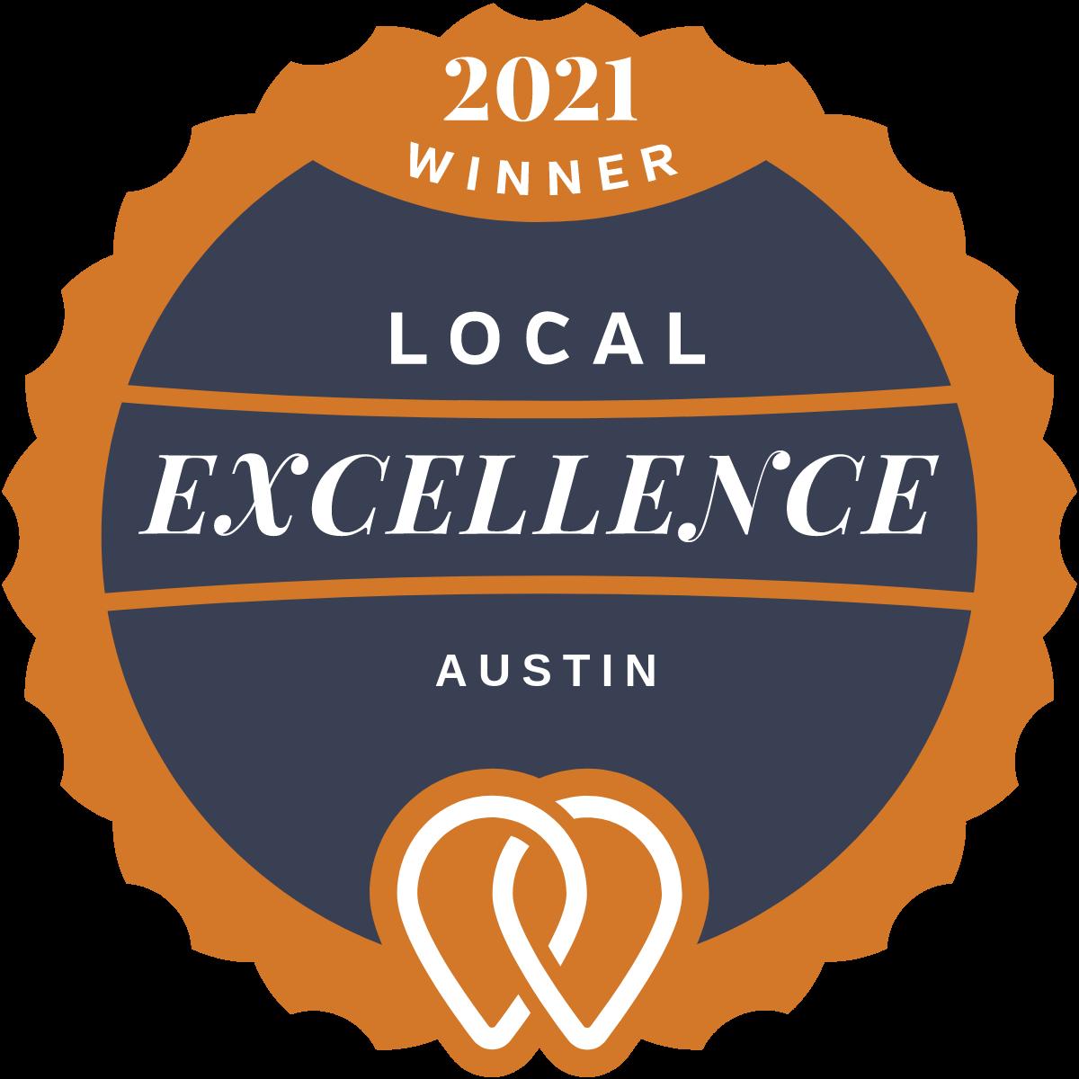 2021 Local Excellence Award Winner